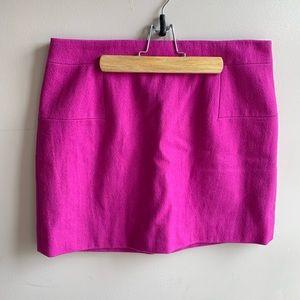 J. Crew Purple Mini Skirt - NWOT